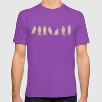 Music Sheet Musical Note… Mens Fitted Tee Ultraviolet SMALL