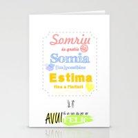 {CAT} SOMRIU · SOMIA ·… Stationery Cards