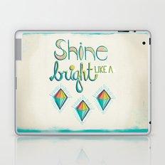 Shine Bright Like A Diamond Laptop & iPad Skin