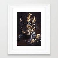 Hellfire Framed Art Print