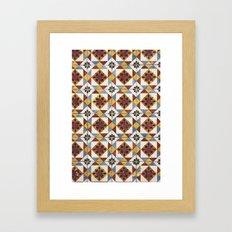 Lisbon Tiles Framed Art Print