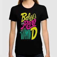 Baby's In Reno Womens Fitted Tee Black SMALL