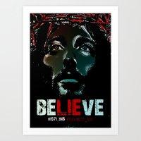 Believe Poster Art Print