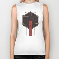 The Crimson Tower Biker Tank