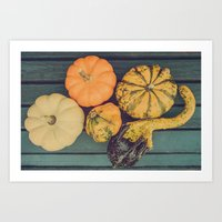Ghourdly Gatherings Art Print