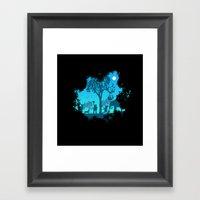 The jungle Framed Art Print