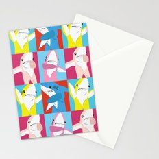 Left Shark Pop Art Stationery Cards