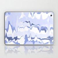 Marbled In Ocean Laptop & iPad Skin