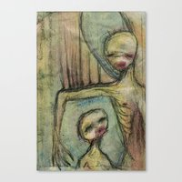 under my wing Canvas Print