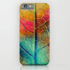 Colored Leaf Slim Case iPhone 6s