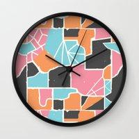 Bela Silueto Wall Clock