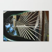 Rings, Strings, And Thin… Canvas Print