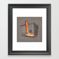 The Chicago Theater Framed Art Print