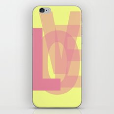 L-OVE iPhone & iPod Skin