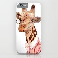 iPhone & iPod Case featuring Giraffe by Animal Crew