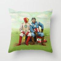 Friends? Throw Pillow