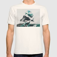 My head is an animal  Mens Fitted Tee Natural SMALL