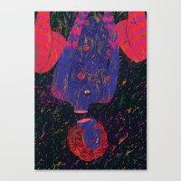 uprainy Canvas Print