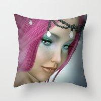 Pearl Drop Throw Pillow