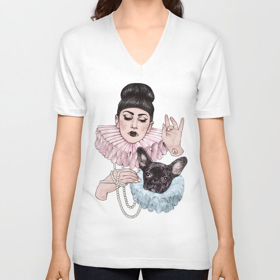 Dress Up V-neck T-shirt