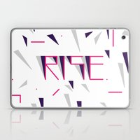 Rise No.2 - White Laptop & iPad Skin