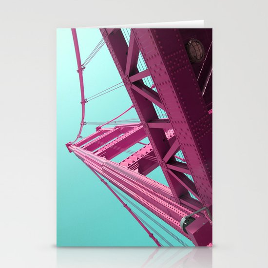 golden gate Stationery Card
