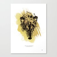 Solitude Is Independence Canvas Print