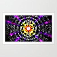 Lotus Flower - Ferris Wheel Art Print