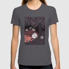 Tree of Forever Dreams Womens Fitted Tee Asphalt SMALL