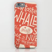 iPhone & iPod Case featuring 'How the Whale Got His Throat' by Steve Simpson