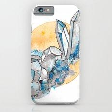 Blue Metallic Crystals iPhone 6 Slim Case