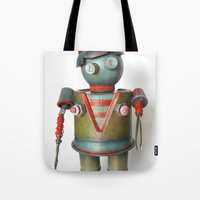 BitchBot Tote Bag