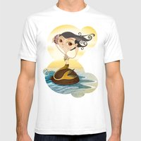 Sirena Mens Fitted Tee White SMALL