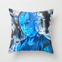 Nebula Throw Pillow