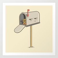 You've Got Spam! Art Print