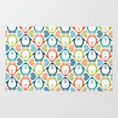 NGWINI - penguin love pattern 5 Rug