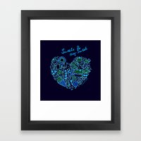 Heartfilled Framed Art Print