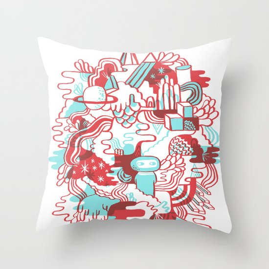 Space Deluxe Throw Pillow