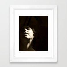 Shadow Me Framed Art Print
