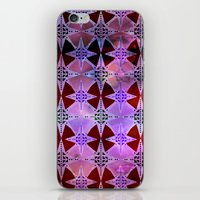 Bohemian Night Sky -Purple iPhone & iPod Skin