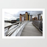 The River Tyne Art Print