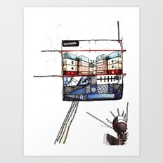 Container Love Art Print
