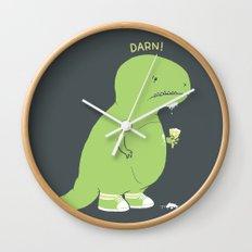 Darn! Wall Clock