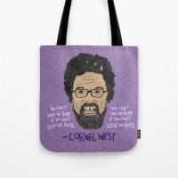CORNEL WEST Tote Bag