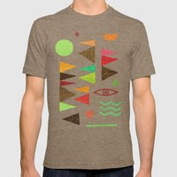 Tangential Paralysis (Pa… Mens Fitted Tee Tri-Coffee SMALL