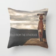 Hello From The Otherside Throw Pillow