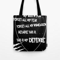 My Defense Tote Bag