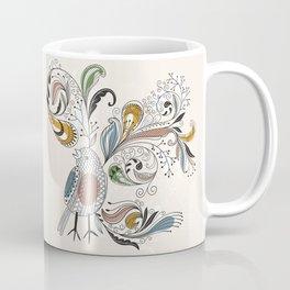 Mug - Floral Bird - UniqueD