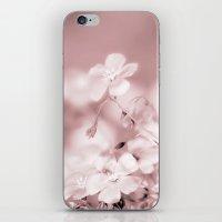 WINTER FOOWER iPhone & iPod Skin