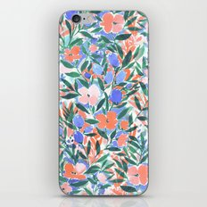 Nonchalant Coral iPhone & iPod Skin